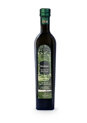 Holiva 500 ml Extra Virgin Olive Oil- Dark Glass