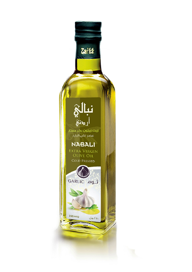 Picture of Nabali Extra Virgin Olive Oil - Garlic