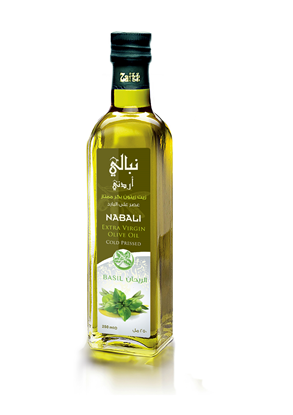 Picture of Nabali Extra Virgin Olive Oil - Basil
